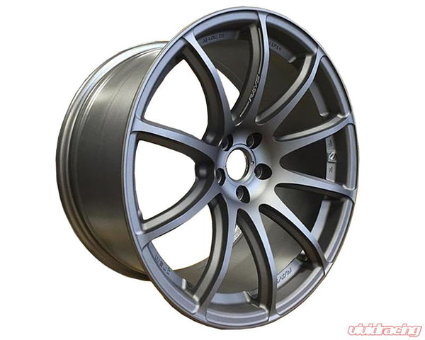 GRAMLIGHTS WHEELS - Matte Graphite with Machining 57Transcend Wheel 19x10.5 5x114.3 20mm (WGTO620EMGS)