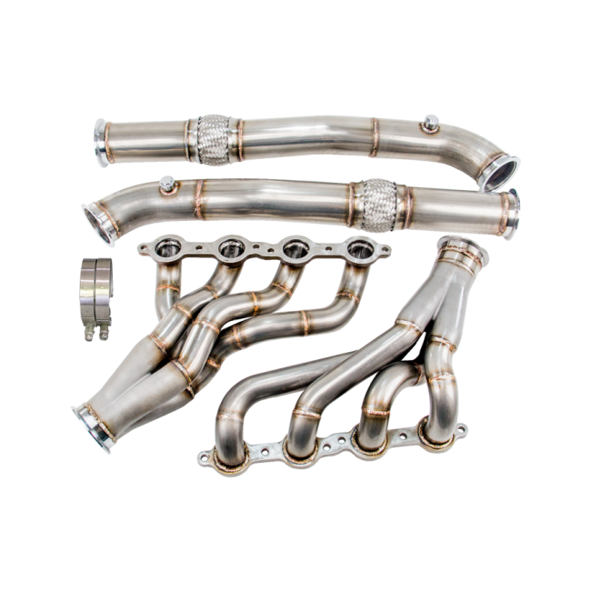 CXRacing - LS1 Engine T56 Trans Mount Headers Kit for 04-13