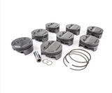 "MAHLE PISTONS - Motorsports Pistons Small Block Chevy PowerPak Piston & Ring Kit Forged 4032 High Silicon Low Expansion Aluminum Alloy,Bore: 4.165"" (SBC000165I20)"