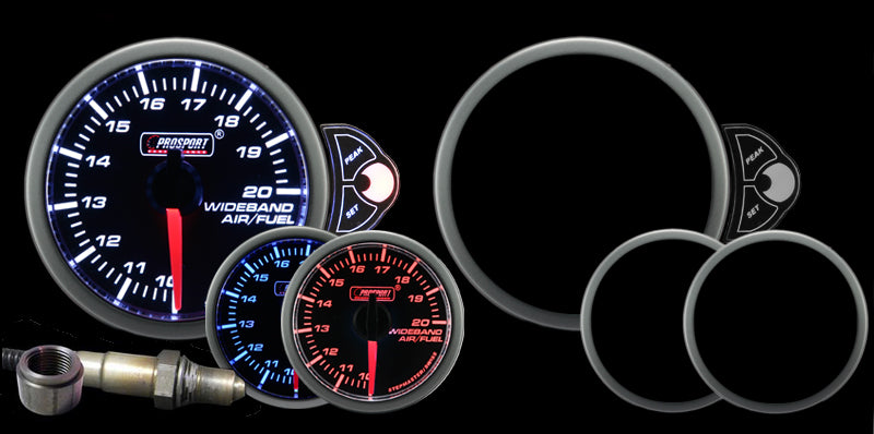 Pro Sport Gauges - Pro Sport Gauges - Halo Wideband Air fuel ratio Gauge
