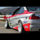DTM Fiberwerkz - BMW E46 M3 OEM Style Rear Over fenders