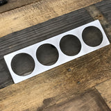 Condor Speed Shop - Condor Speed Shop Aluminum Center Vent Gauge Panels - E30