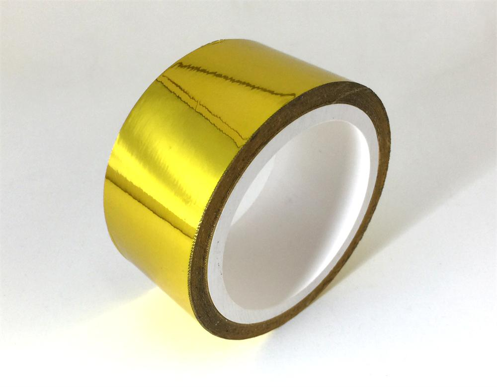 Pro Sport Gauges - Gold Heat Reflective Self Adhesive Tape 30 Feet x 2 Inches wide