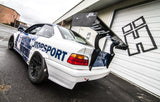 HARD Motorsport Chassis-Mount Spoiler Upright Kit - BMW E36 Coupe