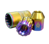 NRG - STEEL LUG NUTS WITH BULLET SHAPED ENDS (LN-T210MC-21)
