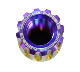 NRG - M12 X 1.5 TITANIUM NEOCHROME LUG NUT SET 21 PC / LOCK KEY SOCKET