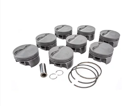 MAHLE PISTONS - Motorsports Pistons Small Block Chevy PowerPak Piston & Ring Kit Forged 4032 High Silicon Low Expansion Aluminum Alloy,Bore: 4.165