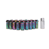 Mishimoto - Aluminum Locking Lug Nuts, M12 x 1.5,Neo Chrome (MMLG-15-LOCKNC)