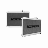 Mishimoto - Mazda RX-8 Performance Aluminum Radiator Manual, 2004-2008 (MMRAD-RX8-04)