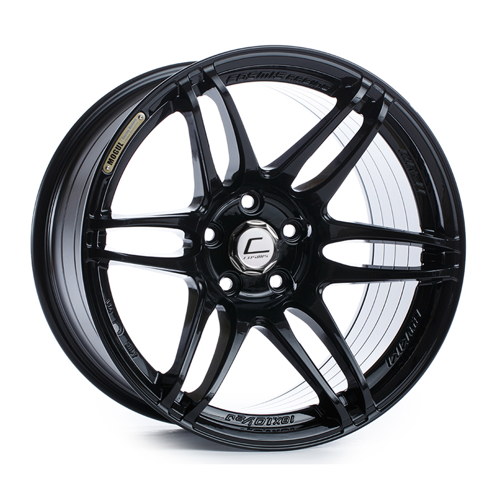 Cosmis Racing MRII Black Wheel 18x8.5 +22mm 5x114.3