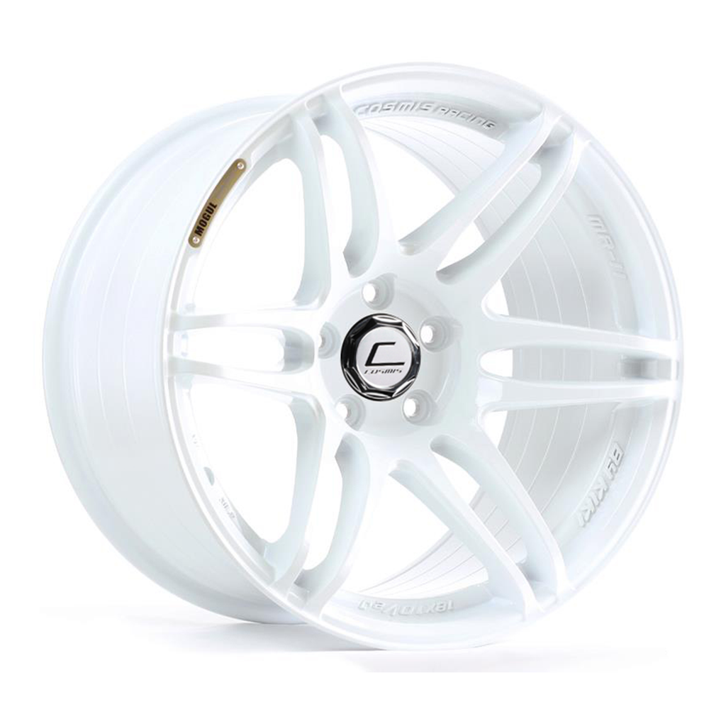 Cosmis Racing MRII White Wheel 18x9.5 +15mm 5x114.3