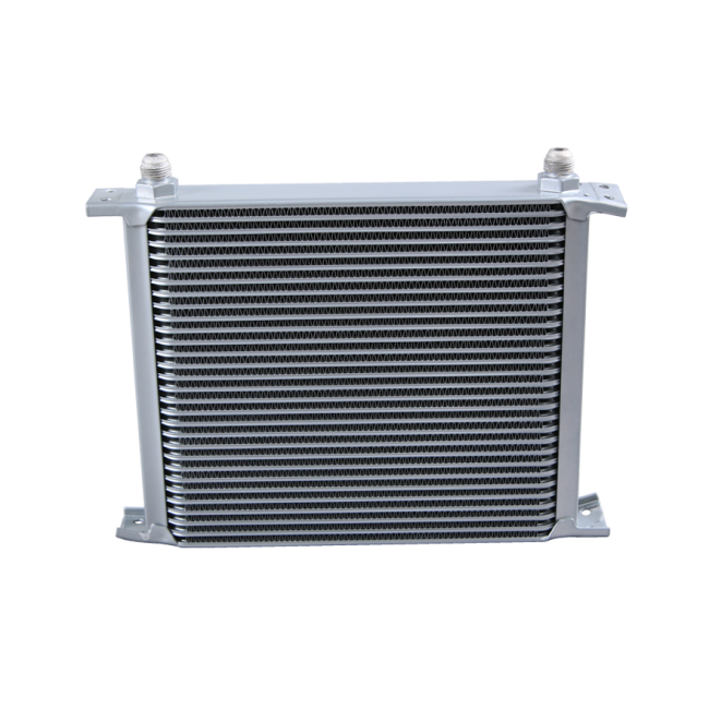 CXRacing - HI PERFORMANCE TRANSMISSION ENGINE UNIVERSAL ALUMINUM OIL COOLER 30 ROW AN8 (OC-248-30-AN8)