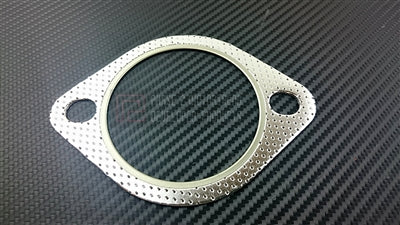 P2M - 80MM 2 BOLT EXHAUST GASKET (P2-EXH2BSKT-TCO)
