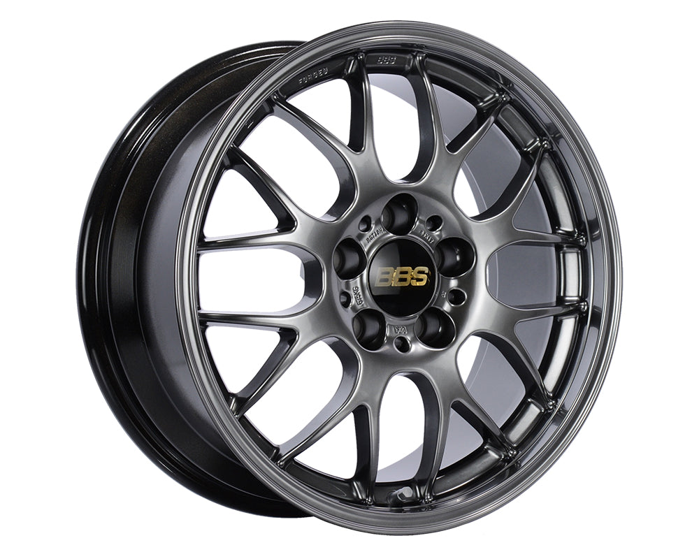 BBS - RGR 17x7.5 5x114.3 48 Diamond Black (RG744HDBK)