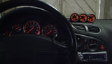 Pro Sport Gauges - Pro Sport Gauges - Mazda RX-7 triple gauge pod -52mm