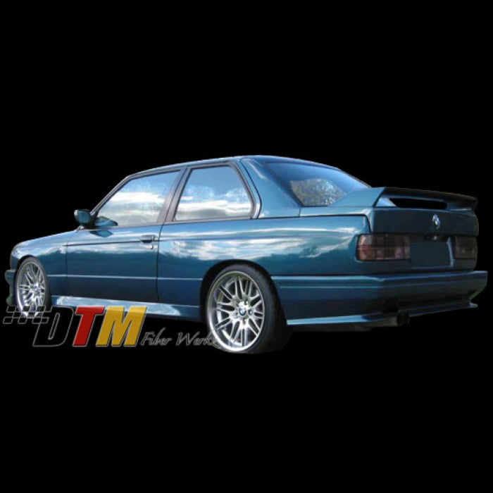 DTM Fiberwerkz - BMW E30 M3 Evo Style Rear Bumper ( Fit M3 Only)