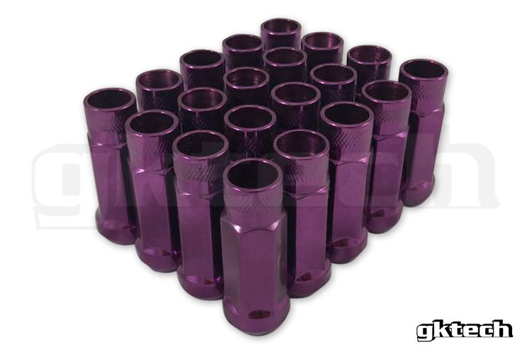 GKTech - PURPLE - OPEN ENDED LUG NUTS (PACK OF 20) (GKT-PELN16)