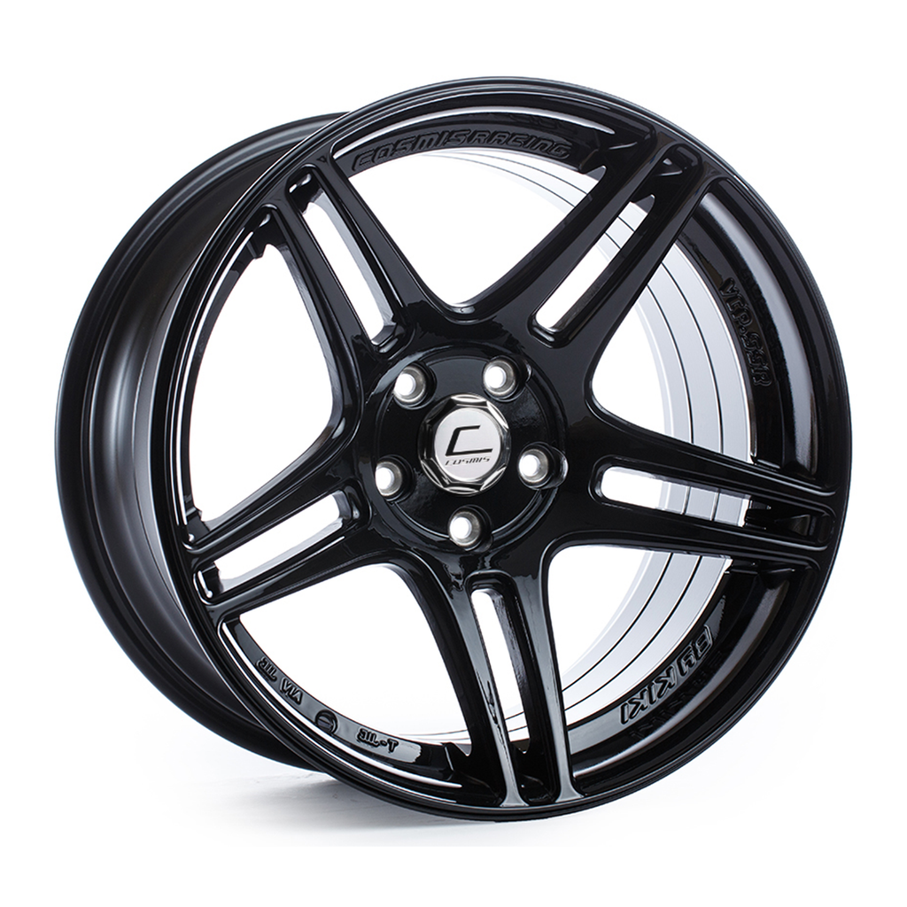Cosmis Racing S5R Black Wheel 17x9 +22mm 5x114.3