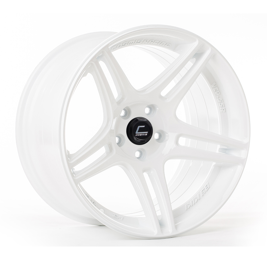 Cosmis Racing S5R Wheel White 18x9 +26mm 5x114.3