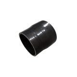 "CXRacing - UNIVERSAL 3.5""-3.25"" STRAIGHT BLACK SILICON HOSE COUPLER REDUCER (SH350R325-3BK-76)"