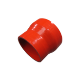 "CXRacing - UNIVERSAL 3.5""-3"" RED STRAIGHT SILICON HOSE COUPLER REDUCER FOR INTERCOOLER PIPE (SH350R300-3R-76)"
