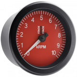 AutoMeter - TACHOMETER, SPORT, 88MM, BLACK, 0-10K RPM (ST100-010)