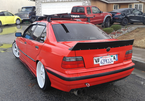 Big Duck Club - E36 Sedan Duck Tail Spoiler