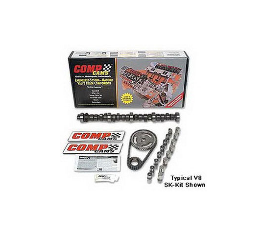COMP CAMS - Xtreme Energy 256H Hydraulic Flat Tappet Camshaft Small Kit  Lift .477''/.484''  Duration 256°/268°  Ford 221-302 C.I. 8 cyl. 1963-1995  (SK31-234-3)