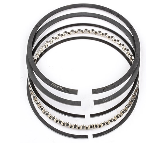 CLEVITE - MAHLE Piston Ring Set 1961-1999 Small Block Ford 289/302/351W/351C/351M/400ci, Chevy 302/327/350ci, Chrysler 360ci, AMC 327ci, Pontiac 301ci 4.020