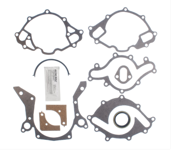 CLEVITE - MAHLE Timing Cover Gasket Set 1986-2001 Small Block Ford 302/351W (5.0/5.8L) (JV1034)