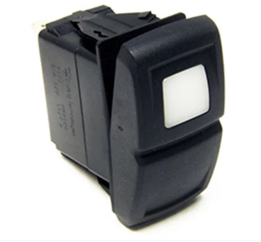 Painless Wiring - Painless Performance Products Contura XIV Rocker Switch  White LED On/Off (57051)