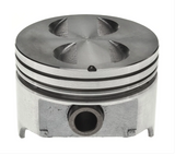 "CLEVITE - MAHLE Piston 1965-1986 Small Block Ford 289/302ci 4.00"" Bore (Standard) Flat Top With 4 Reliefs (2242108)"