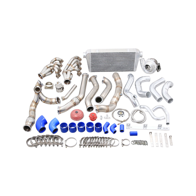 CXRacing - TURBO MANIFOLD INTERCOOLER KIT FOR 91-00 LEXUS SC300 WITH LS ENGINE (TRB-KIT-LS-SC300-IC)