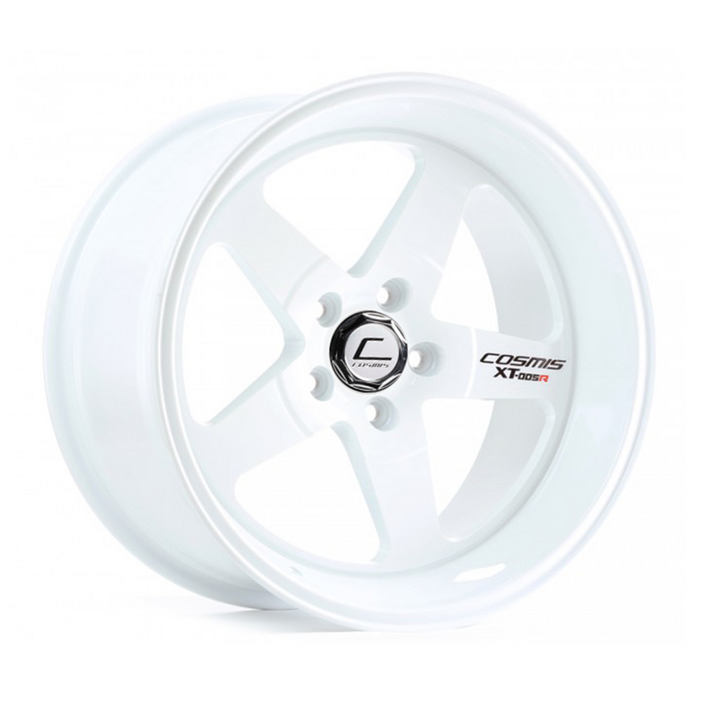 Cosmis Racing XT-005R Wheel White 18x10 +20mm 5x120