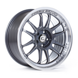 Cosmis Racing XT-206R Gun Metal w/ Machined Lip Wheel 17x8 +30mm 5x100