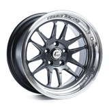 Cosmis Racing XT-206R Gun Metal w/ Polished Lip Wheel 17x9 +5mm 5x114.3