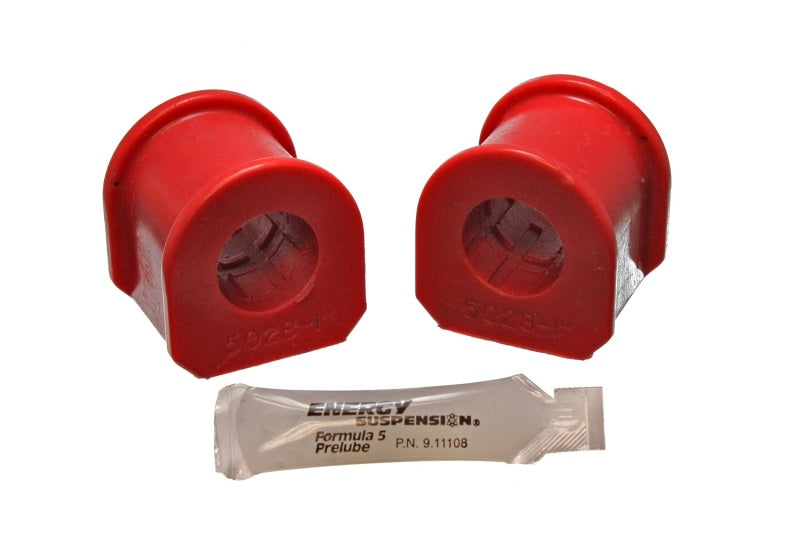 ENERGY SUSPENSION - Front Sway Bar Bushings 1979-2002 Ford Mustang 15/16'' Diameter Bar Red Bushings (4-5112R)