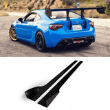 AeroFlow Dynamics - 2013 - 2017 Subaru Brz/ Scion Frs Side Skirt Extension V2 (SBSFSSEV1)