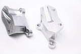 DHQ - Corvette C5 / C6 Bolt on Dual Caliper Brackets (Allows Stock Handbrake)