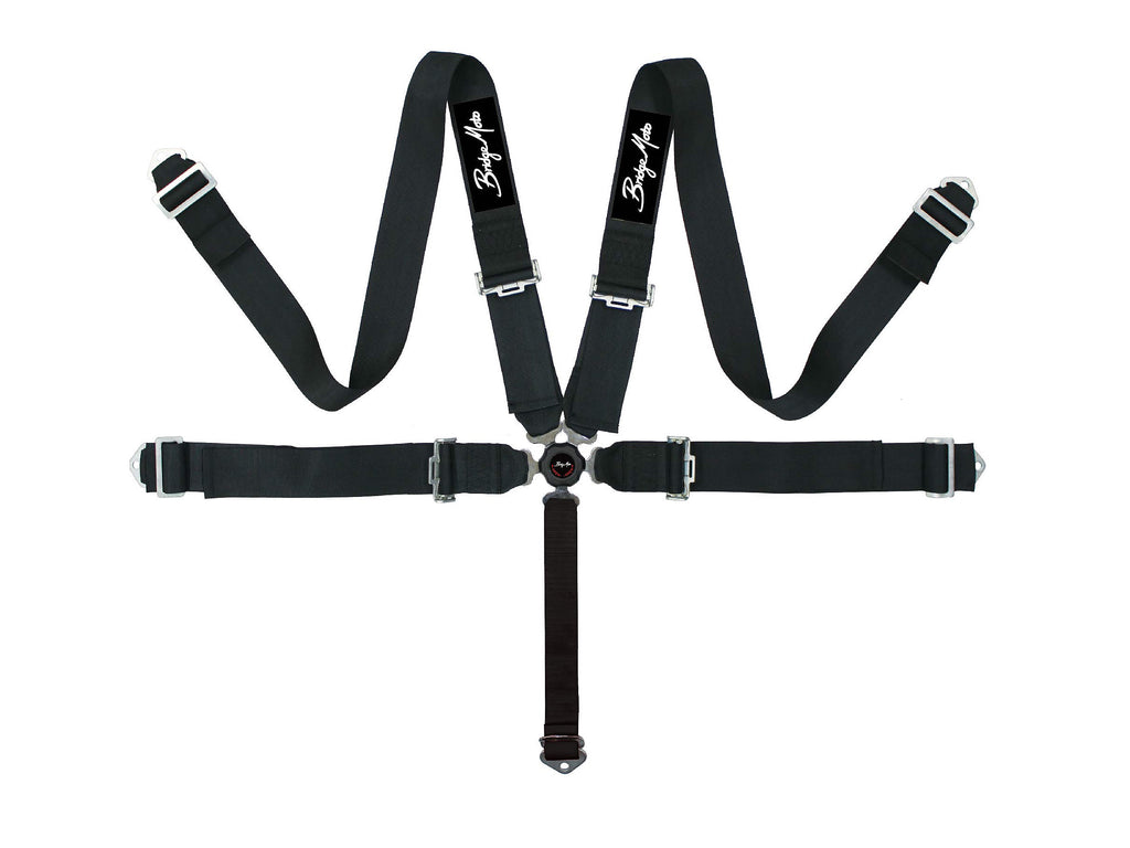 Bridge Moto SFI Cam-Lock 5 Point Harnesses