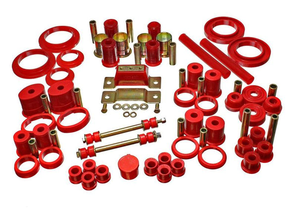 Energy Suspension - Hyper-Flex System Complete Master Bushing Set 1985-93 Ford Mustang (4-18110R)