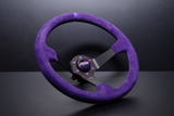 DND Performance Interior - Full Colored Suede Steering Wheel