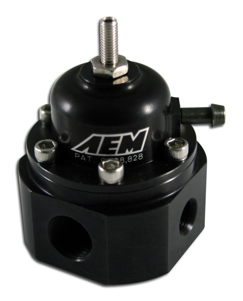 AEM - FUEL PRESSURE REGULATOR (25-302BK)