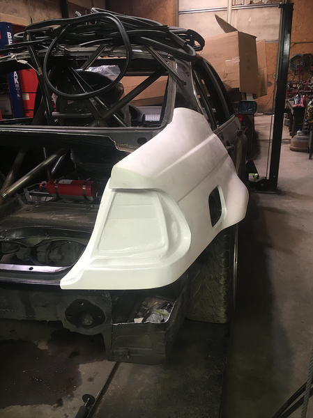 Big Duck Club - E46 Sedan Rear Quarter Panel Replacement