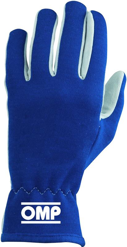OMP AMERICA - RALLY RACING GLOVES (BLUE / XL)