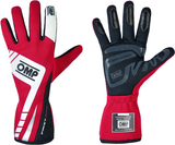 OMP AMERICA - FIRST EVO RACING GLOVES (RED)