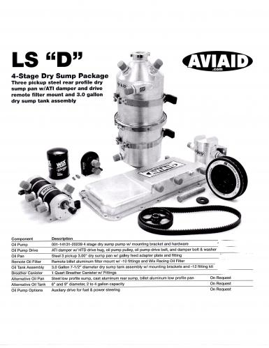 Aviaid - LS D 4 Stage D/S Kit (103-1003)