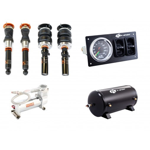 K-SPORT - KSPORT - Infiniti G35 2003-2007 Airtech Basic Air Suspension System (CIN260-ABA)