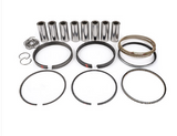 "MAHLE PISTONS - Motorsports Pistons Big Block Chevy PowerPak Piston & Ring Kit Forged 4032 High Silicon Low Expansion Aluminum Alloy,Bore: 4.310"" (BBC270310F03)"