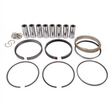 "MAHLE PISTONS - Motorsports Pistons Big Block Mopar PowerPak Piston & Ring Kit Forged 4032 High Silicon Low Expansion Aluminum Alloy,Bore: 4.375"" (BBM475375F08)"